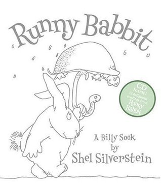 Runny Babbit Book and Abridged CD by Shel Silverstein