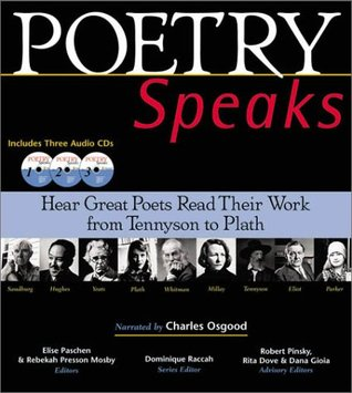 Poetry Speaks by Elise Paschen
