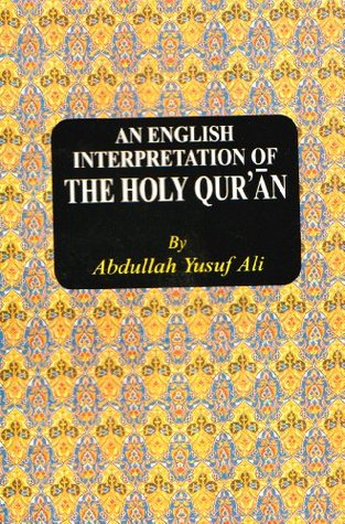 An English Interpretation of the Holy Qur'an by Anonymous