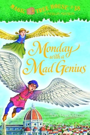 Monday with a Mad Genius by Mary Pope Osborne