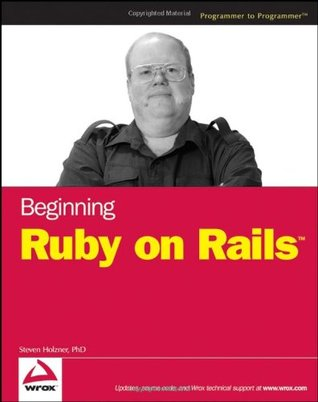 Beginning Ruby on Rails by Steven Holzner