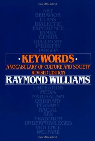 Keywords by Raymond Williams