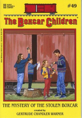 The Mystery of the Stolen Boxcar (The Boxcar Children, #49)