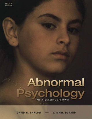 Abnormal Psychology: An Integrative Approach (with CD-ROM and InfoTrac®)