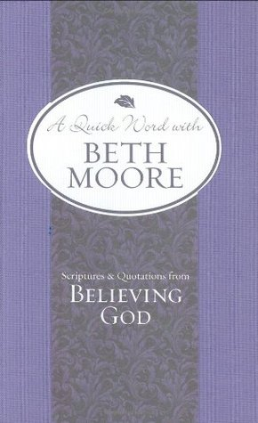 a discussion of believing in god Wow believing god women of the word believing god through the study of beth moore's bible study believing god, experiencing a fresh explosion of faith.