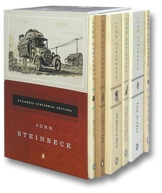The Steinbeck Centennial Collection: The Grapes of Wrath/Of Mice and Men/East of Eden/The Pearl/Cannery Row/Travels With Charley in Search of America (Boxed)