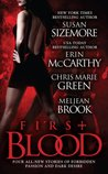 First Blood (Includes: Laws Of The Blood, #5.5; Vegas Vampires, #5; Vampire Babylon, #2.5; The Guardians, #3.5)