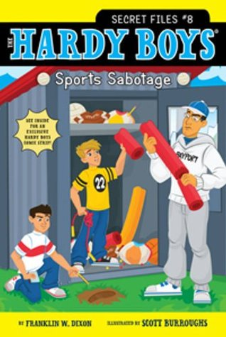 Sports Sabotage (The Hardy Boys: Secret Files, #8)