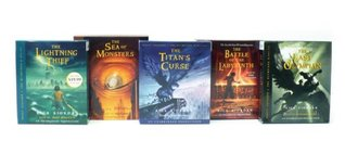 Percy Jackson and the Olympians (Percy Jackson and the Olympians, #1-5)