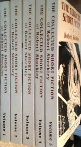 The Collected Short Fiction of Robert Sheckley, 5 Volume set
