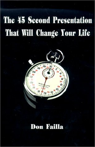 the 45 second presentation that will change your life pdf
