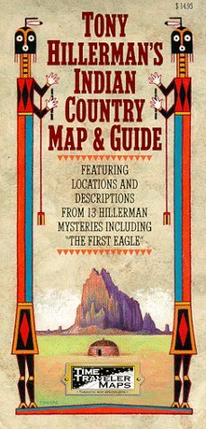 Tony Hillerman's Indian Country Map and Guide by Florence Cline Lister