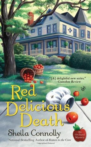 Red Delicious Death by Sheila Connolly