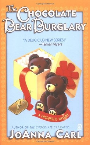 The Chocolate Bear Burglary (A Chocoholic Mystery, #2)