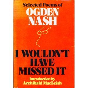 Download I Wouldn't Have Missed It: Selected Poems PDF