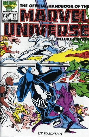 Essential Official Handbook of the Marvel Universe - Deluxe E... by Mark Gruenwald