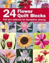 24 Flower Quilt Blocks