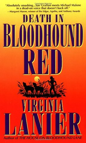Death in Bloodhound Red by Virginia Lanier