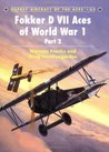 Fokker D VII Aces of World War I Part 2 (Aircraft of the Aces)