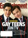 Entertainment Weekly January 28 2011 Darren Criss & Chris Colfer/Glee on Cover (Gay Teens on TV), Natalie Portman, Mega Cheesy Cable Movie Apocalypse, Glee Super Bowl Thriller