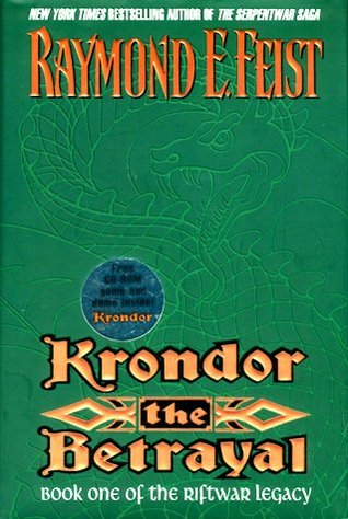 Download online for free Krondor: The Betrayal (The Riftwar Legacy #1) by Raymond E. Feist ePub