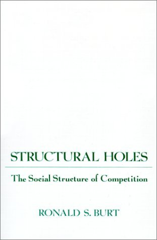 Structural Holes: The Social Structure of Competition