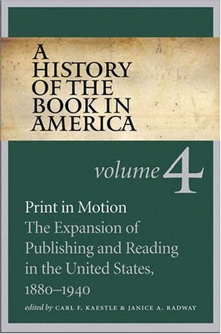 A History of the Book in America by Carl F. Kaestle