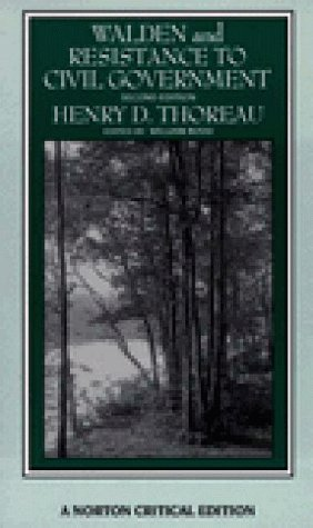 Walden & Resistance to Civil Government by Henry David Thoreau