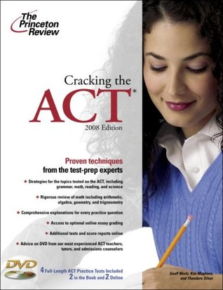 Cracking the ACT with DVD, 2008 Edition by Princeton Review