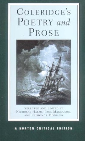 Coleridge's Poetry and Prose by Samuel Taylor Coleridge