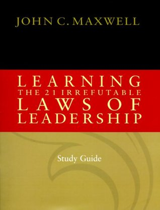 laws of leadership book review Related book 21 irrefutable laws of leadership review - sosbookinfo.