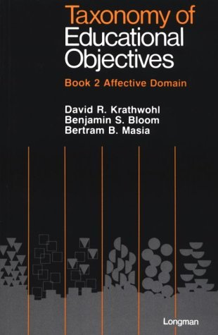 taxonomy of educational objectives book 2 affective domain pdf