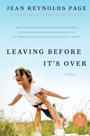 Leaving Before It's Over by Jean Reynolds Page