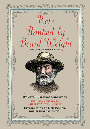 Poets Ranked by Beard Weight: The Commemorative Edition
