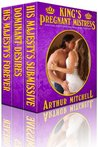 King's Pregnant Mistress: His Majesty's Submissive Boxed Set (King's Pregnant Mistress Series)
