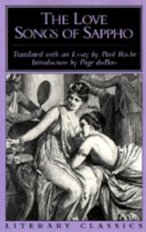 The Love Songs of Sappho by Sappho