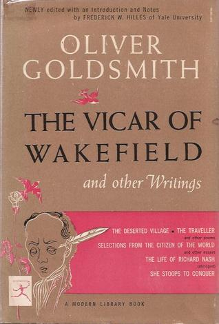 The Vicar of Wakefield and Other Writings