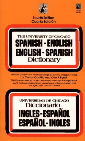 Free download online The University of Chicago Spanish - English English - Spanish Dictionary PDF