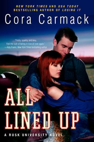 Free download online All Lined Up (Rusk University #1) by Cora Carmack PDF