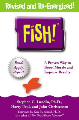 Fish a remarkable way to boost morale and improve for Fish philosophy book