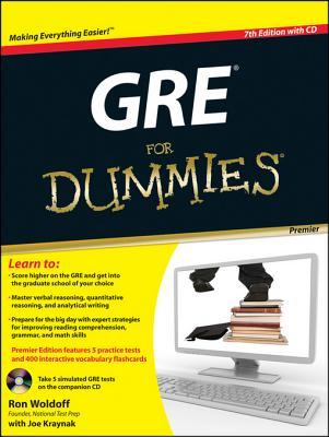 GRE for Dummies, Premier 7th Edition