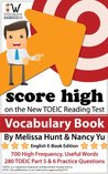 Score High on the New TOEIC Reading Test Vocabulary Book (Score High on the New TOEIC Test)