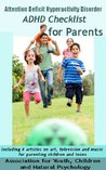 Attention Deficit Hyperactivity Disorder (ADHD) Checklist for Parents