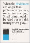 Risk Management Of Everything, The