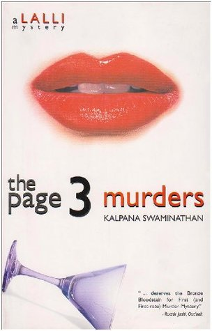 The Page 3 Murders by Kalpana Swaminathan