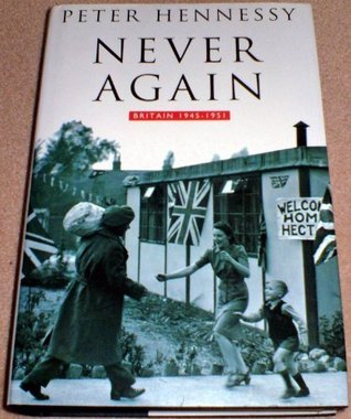 Never Again by Peter Hennessy