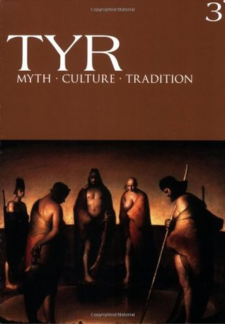 Tyr Myth Culture Tradition Vol. 3 by Joshua Buckley