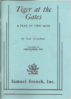 Free download Tiger At The Gates: A Play In Two Acts PDF