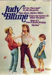 Judy Blume (5 Book Set) Are You There God? It's Me Margaret; Then Again, Maybe I Won't; Otherwise Known As Sheila The Great; Tales of a Fourth Grade Nothing; Blubber