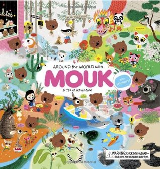 Around the World with Mouk by Marc Boutavant
